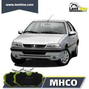 لنت ترمز جلو پژو 405 برند MHCO